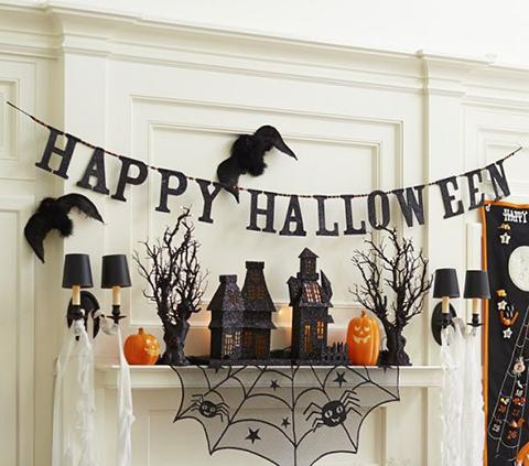 printable halloween decorations spiders